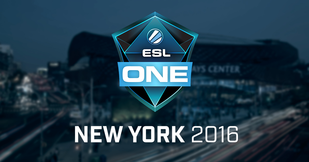 ESL One New York 2016 North America Qualifier