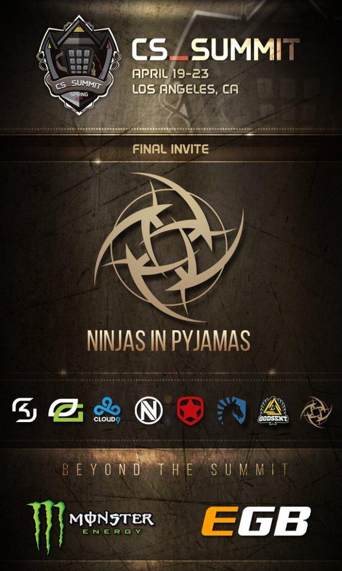 NiP на турнире cs_summit