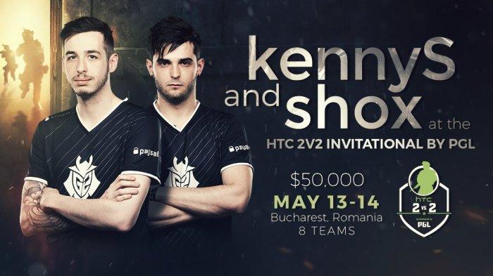 kennyS и shox на HTC 2v2