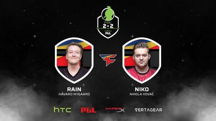NiKo и rain на HTC 2v2